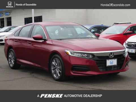 New 2018 Honda Accord Sedan LX CVT Front Wheel Drive Sedan