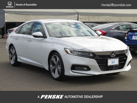 New 2018 Honda Accord Sedan Touring CVT