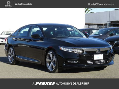 New 2018 Honda Accord Sedan Touring CVT con navegación