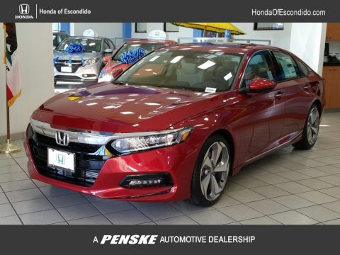 New 2018 Honda Accord Sedan Touring CVT With Navigation