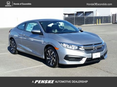 New 2018 Honda Civic Coupe LX-P CVT Front Wheel Drive Coupe