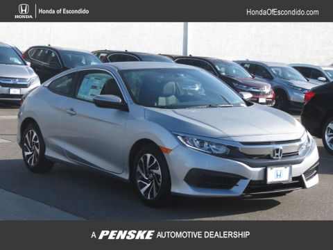 New 2018 Honda Civic Coupe LX CVT