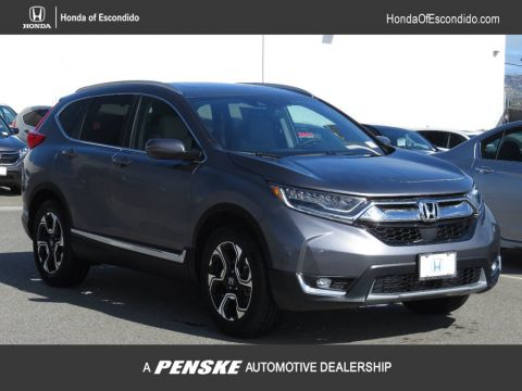 New 2018 Honda CR-V Touring 2WD With Navigation