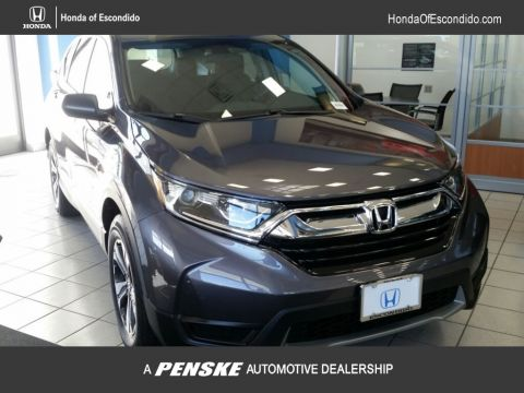 New 2018 Honda CR-V LX 2WD Front Wheel Drive SUV