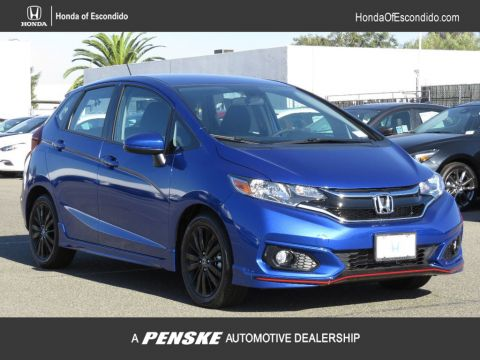 New 2018 Honda Fit Sport Manual Front Wheel Drive Sedan