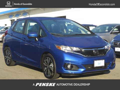 New 2018 Honda Fit EX Manual Front Wheel Drive Sedan
