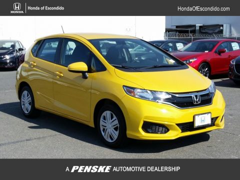 New 2018 Honda Fit LX CVT Front Wheel Drive Sedan
