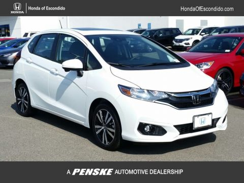 New 2018 Honda Fit EX CVT Front Wheel Drive Sedan