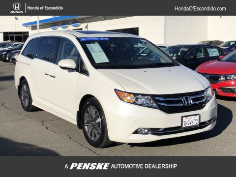Certified Pre-Owned 2014 Honda Odyssey 5dr Touring Elite