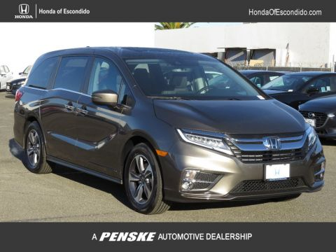 New 2018 Honda Odyssey Touring Automatic Front Wheel Drive Van
