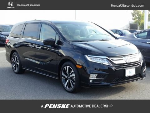 New 2018 Honda Odyssey Elite Automatic Front Wheel Drive Van