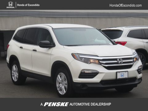 New 2017 Honda Pilot LX AWD All Wheel Drive SUV