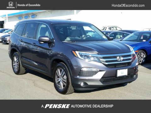New 2018 Honda Pilot EX-L AWD All Wheel Drive SUV