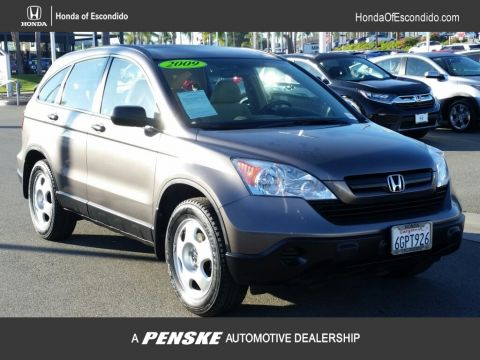 Pre-Owned 2009 Honda CR-V 2WD 5dr LX Rear Wheel Drive SUV
