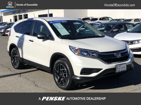 Certified Pre-Owned 2016 Honda CR-V 2WD 5dr SE