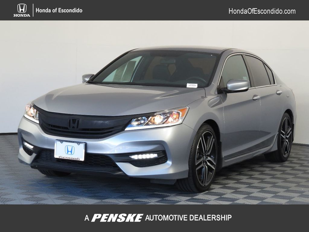 Pre-Owned 2017 Honda Accord Sedan Sport CVT PZEV
