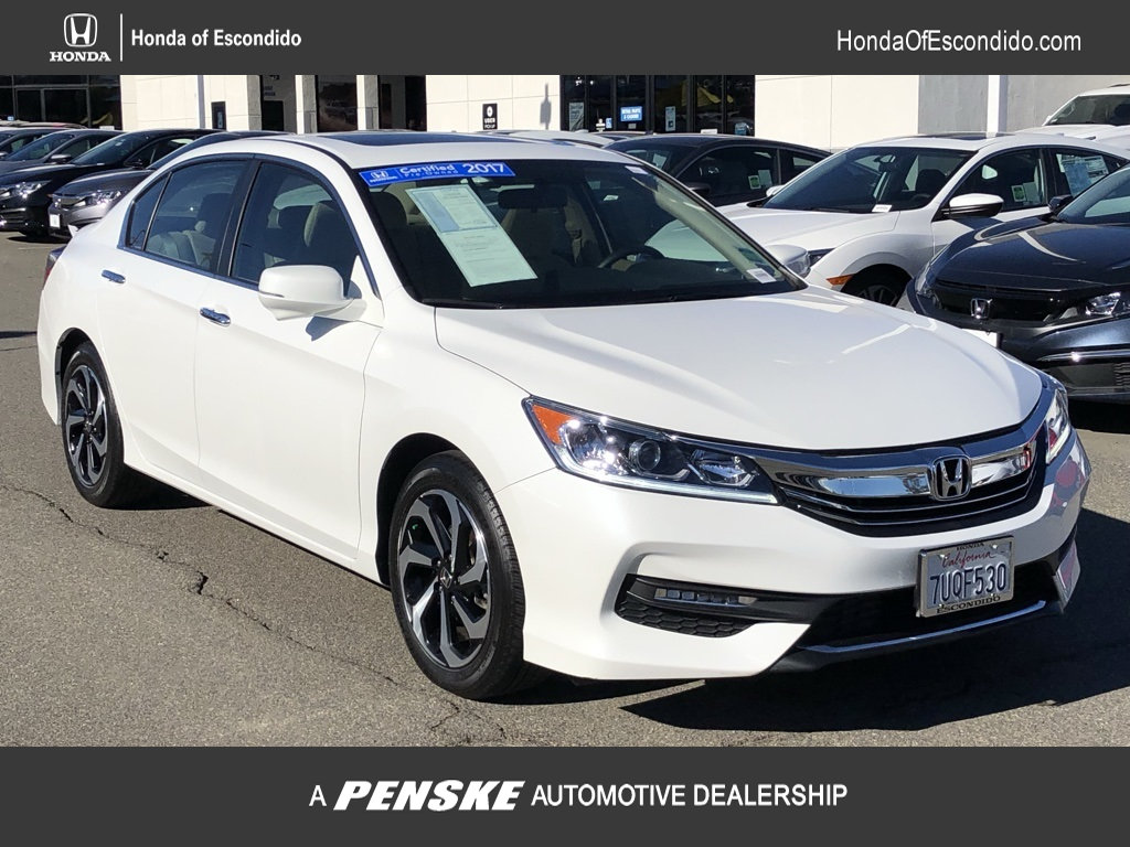 Pre-Owned 2017 Honda Accord Sedan EX CVT PZEV