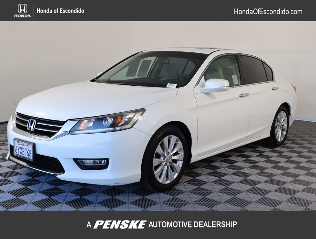 Pre-Owned 2013 Honda Accord Sedan 4dr I4 CVT EX