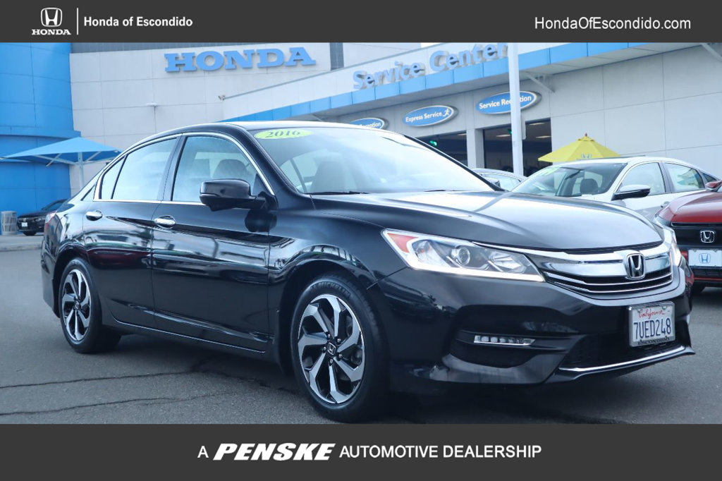 Pre-Owned 2016 Honda Accord Sedan 4dr I4 CVT EX-L PZEV