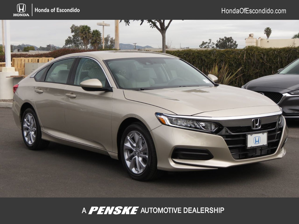 Honda Accord Sedan >> New 2019 Honda Accord Sedan Lx 1 5t Cvt Sedan
