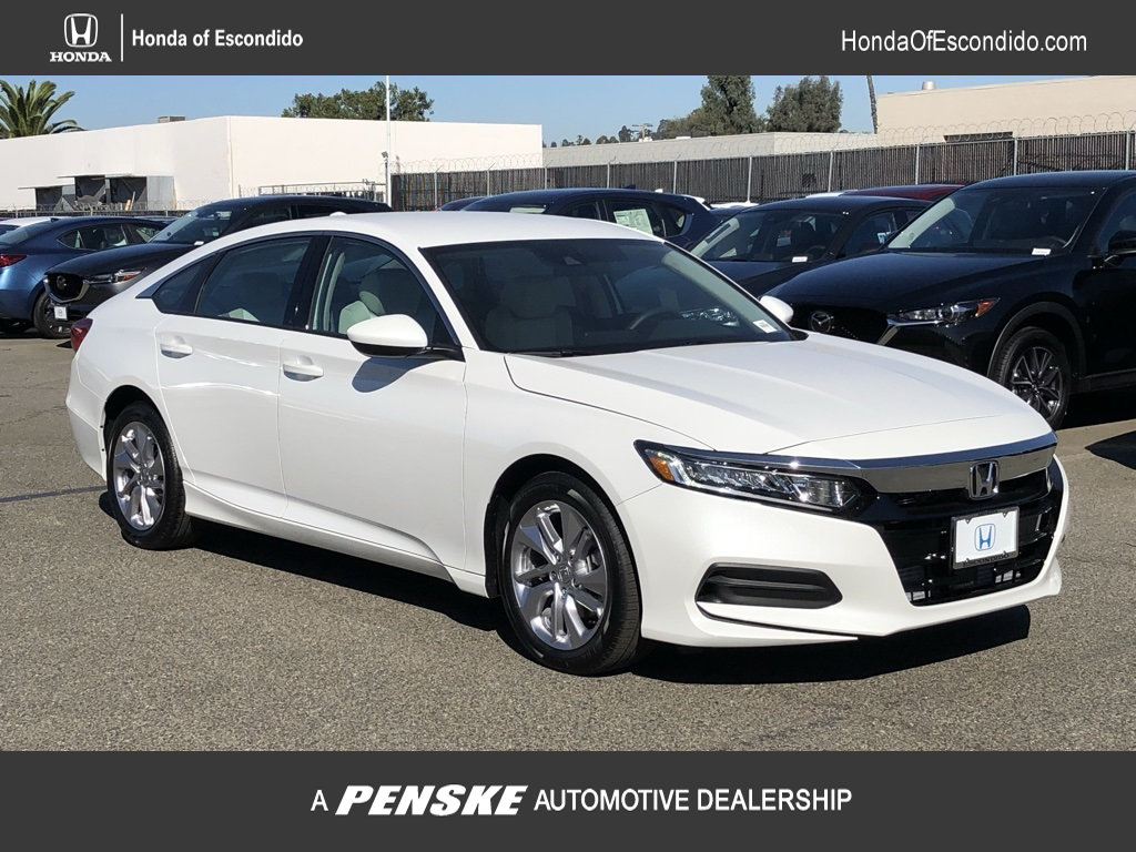 New 2018 Honda Accord Sedan LX 1.5T CVT