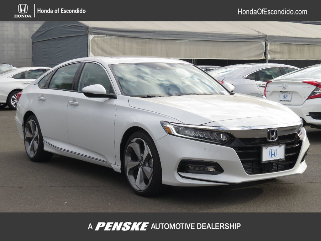 New 2018 Honda Accord Sedan Touring Cvt Sedan In Escondido 77821