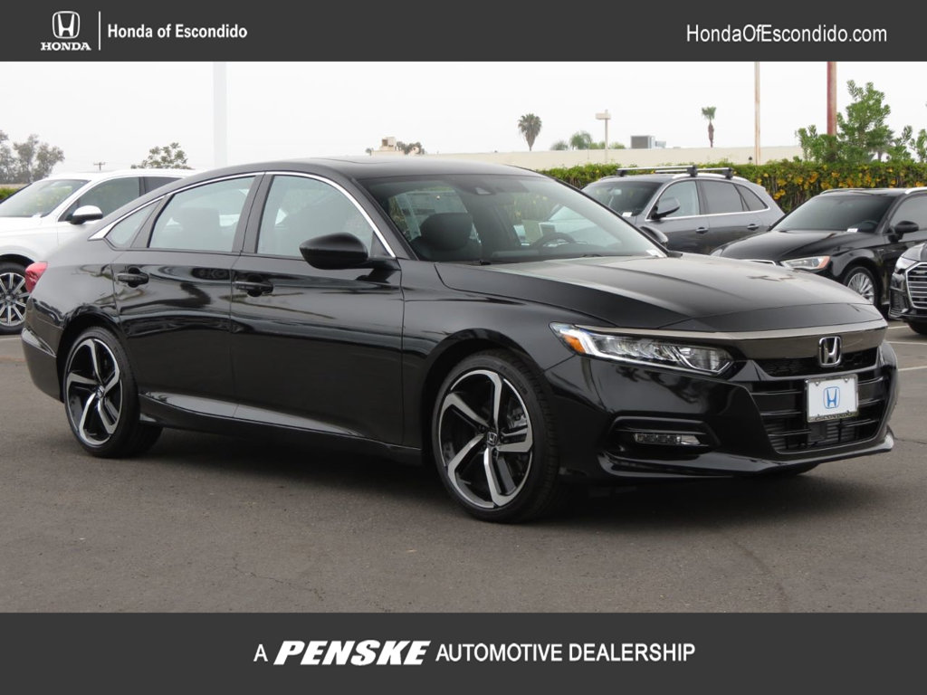 New 2019 Honda Accord Sedan Sport 2.0T Automatic