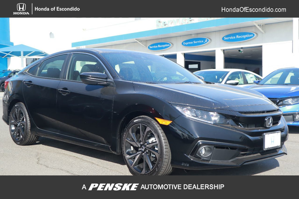 New 2019 Honda Civic Sedan Sport CVT