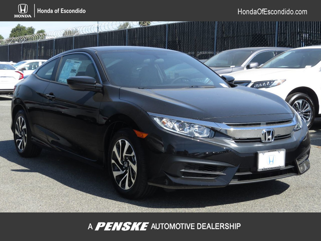 New 2018 Honda Civic Coupe LX P CVT
