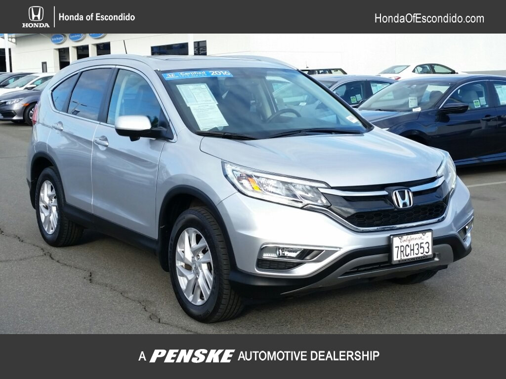 Certified Pre-Owned 2016 Honda CR-V 2WD 5dr EX-L w/Navi