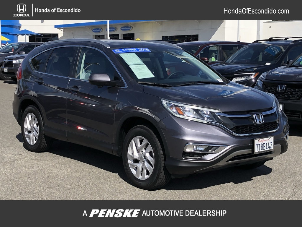 Certified Pre-Owned 2016 Honda CR-V 2WD 5dr EX-L