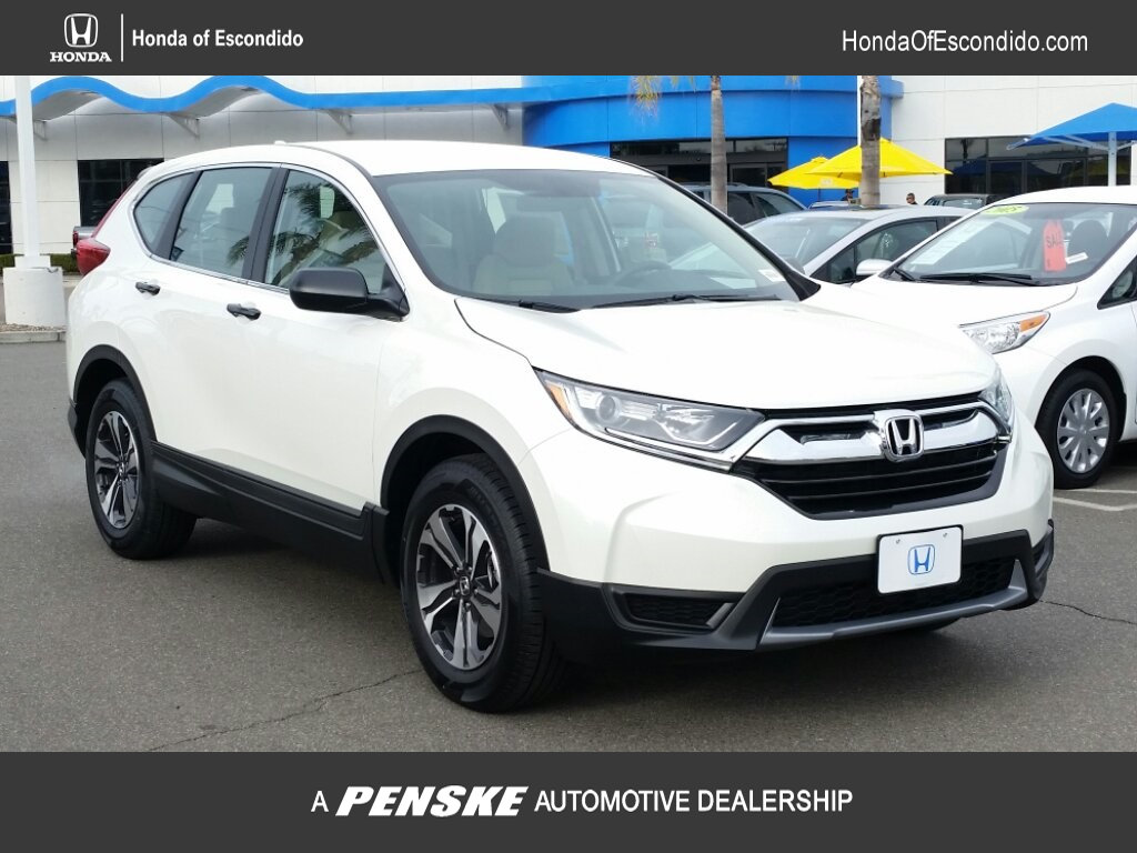 New 2018 Honda CR V LX 2WD