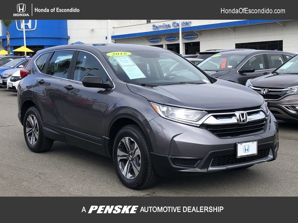 Pre Owned 2018 Honda CR V LX AWD