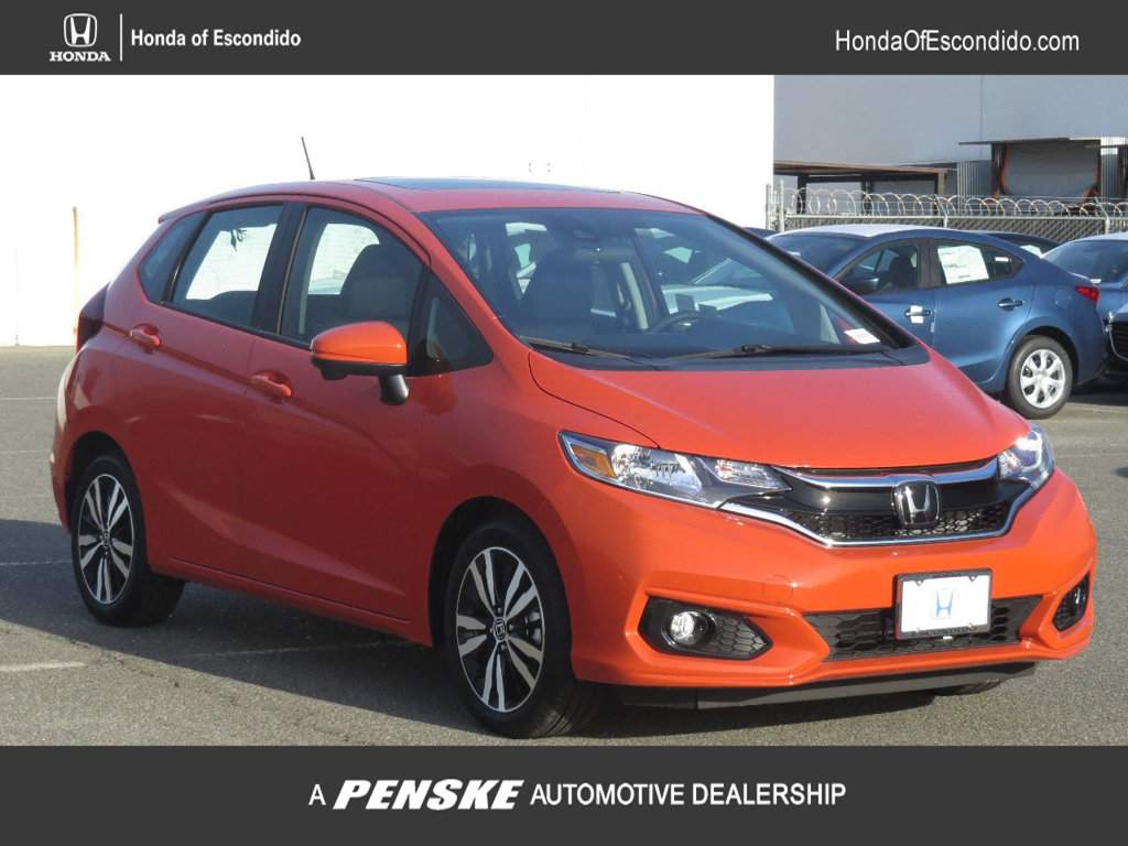 New 2018 Honda Fit EX Manual