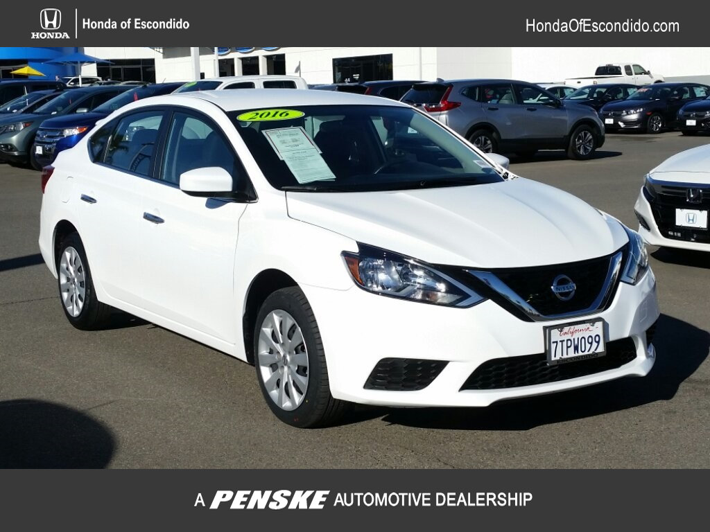 Pre-Owned 2016 Nissan Sentra 4dr Sedan I4 CVT SV