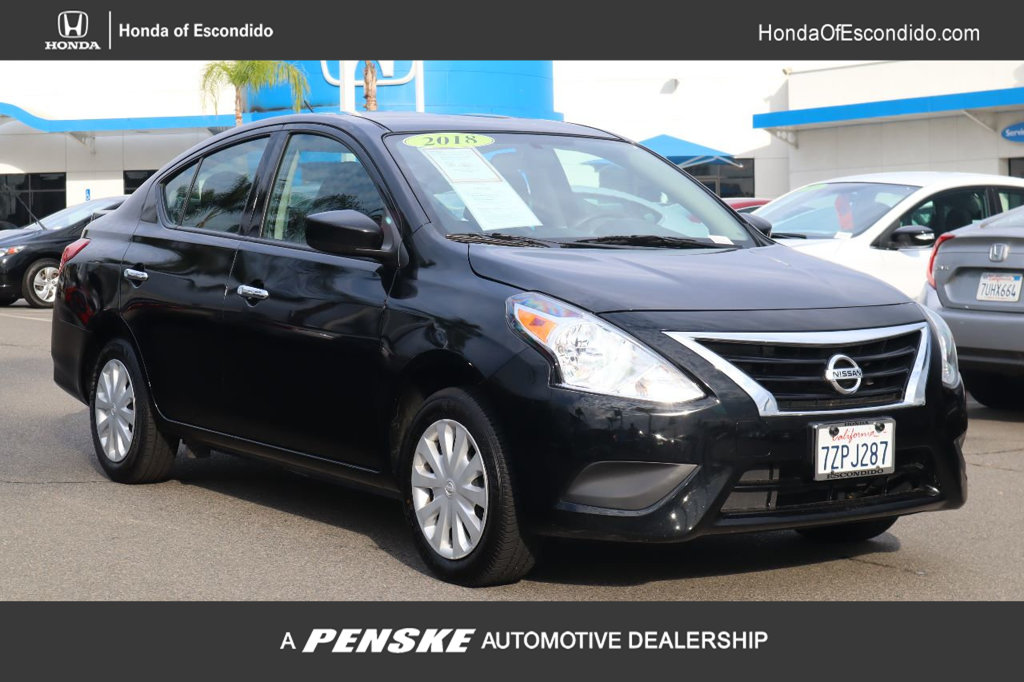 Pre-Owned 2018 Nissan Versa Sedan SEDAN SV CVT