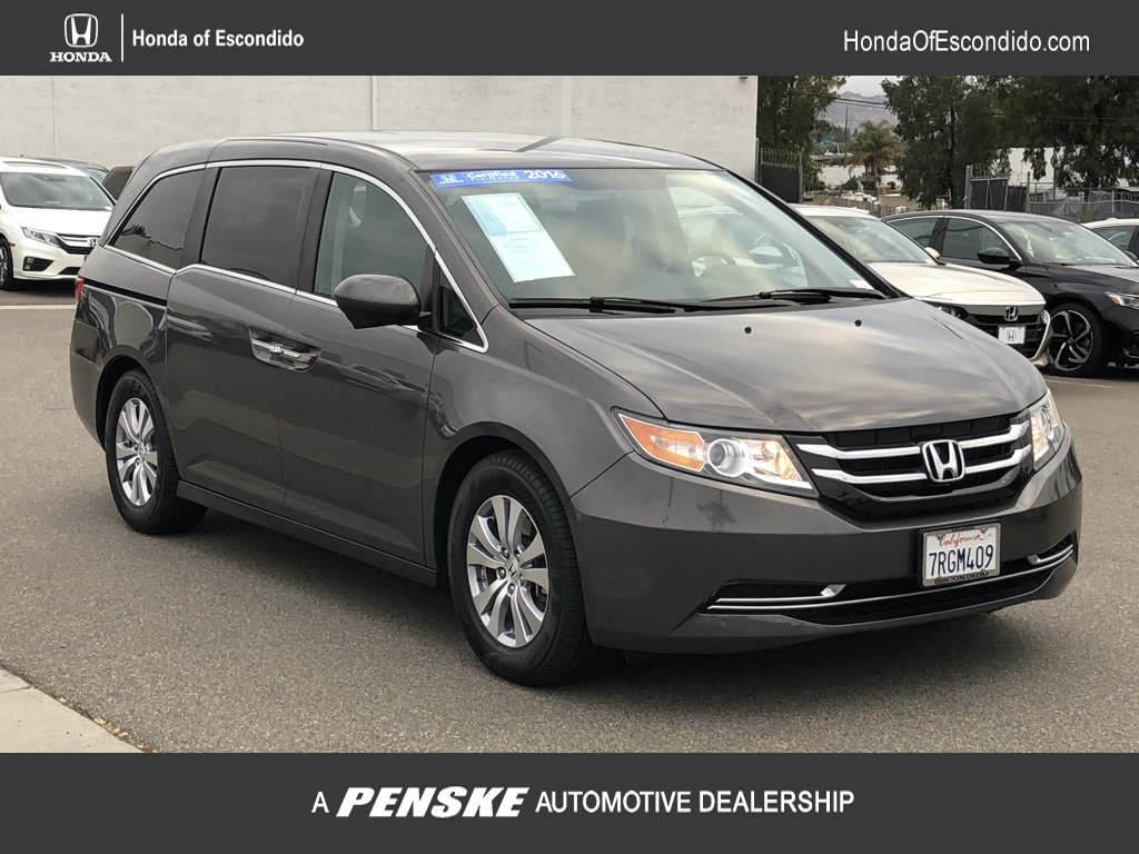 Certified Pre Owned 2016 Honda Odyssey 5dr Se