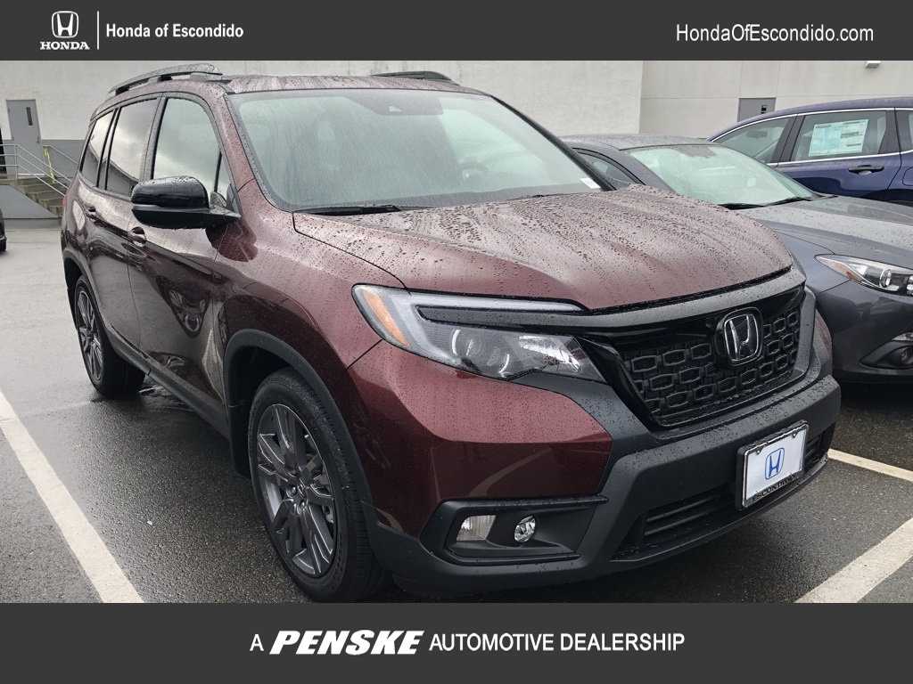 New 2019 Honda Passport 2wd Ex L Sport Utility In Escondido 80113