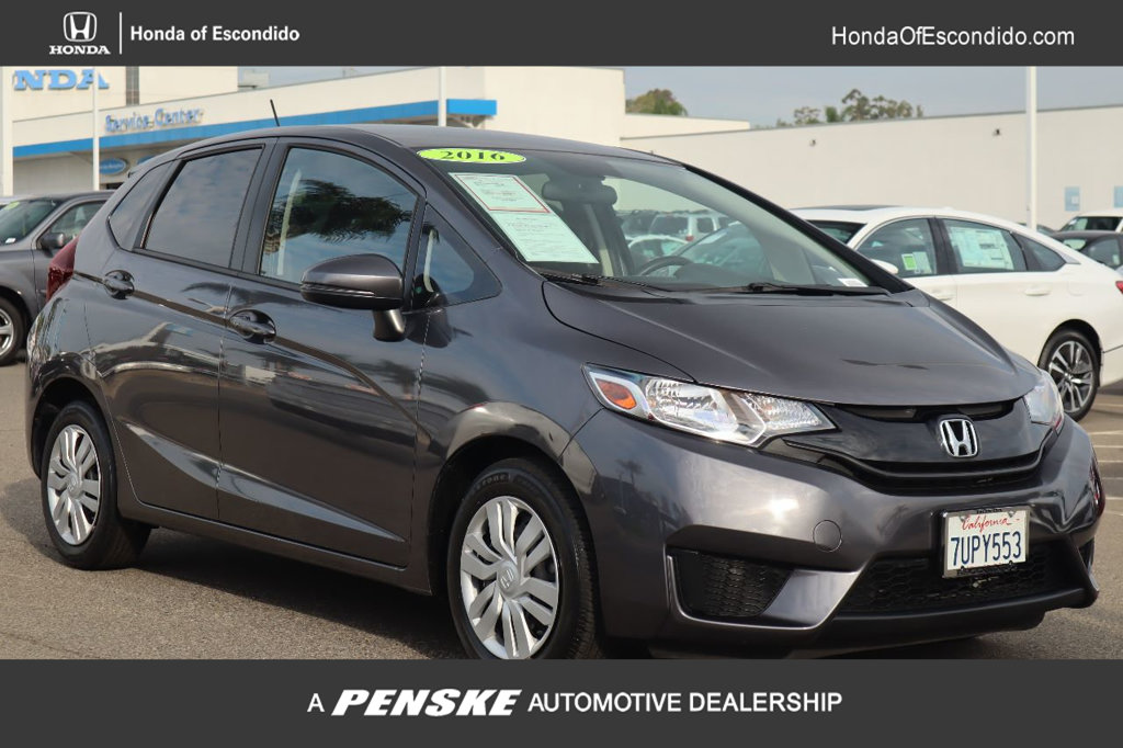 Pre-Owned 2016 Honda Fit 5dr Hatchback CVT LX