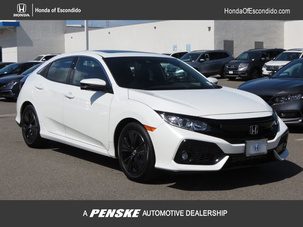 New 2019 Honda Civic Hatchback EX CVT