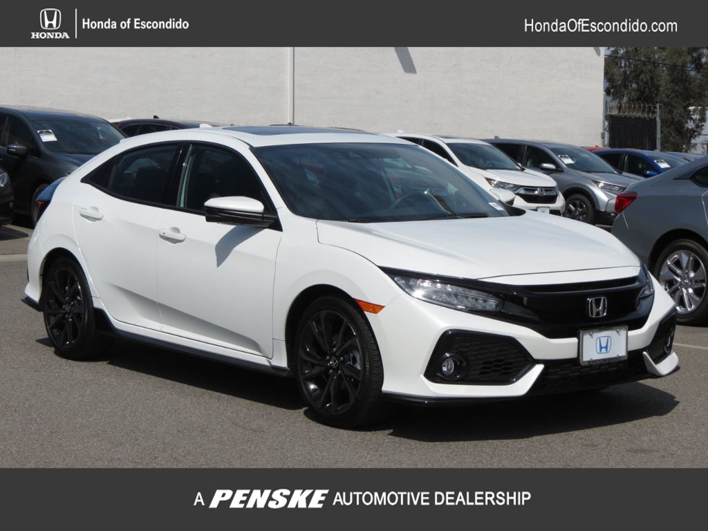 New 2019 Honda Civic Hatchback Sport Touring CVT