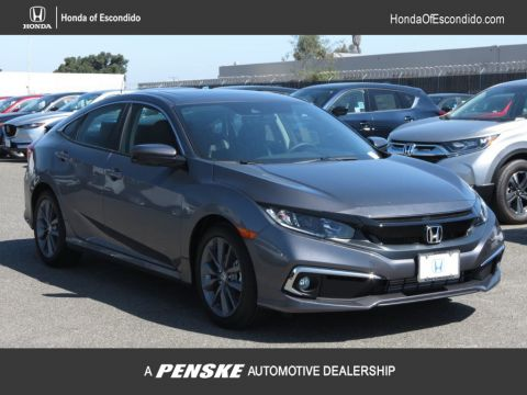 New 2019 Honda Civic Sedan EX-L CVT