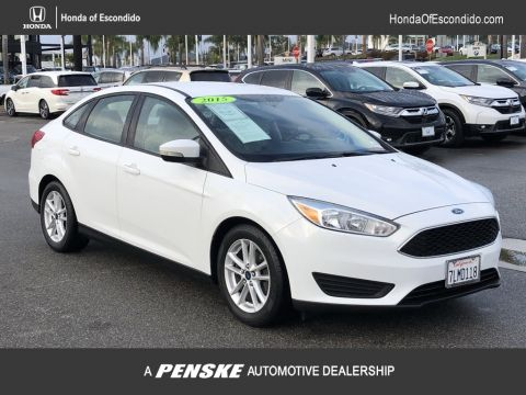 Pre-Owned 2015 Ford Focus 4dr Sedan SE