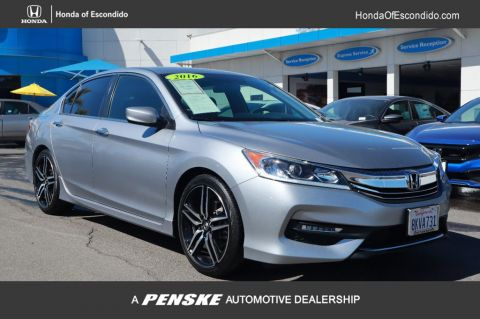 Pre-Owned 2016 Honda Accord Sedan 4dr I4 CVT Sport