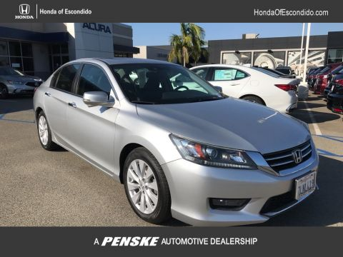 Pre-Owned 2015 Honda Accord Sedan 4dr I4 CVT EX-L w/Navi PZEV