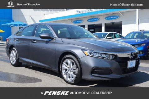 New 2020 Honda Accord 4DR SDN LX CVT 1.5T