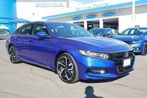 New 2020 Honda Accord 4DR SDN SPORT CVT 1.5T