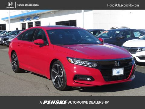 New 2018 Honda Accord Sedan Sport 2.0T Automatic