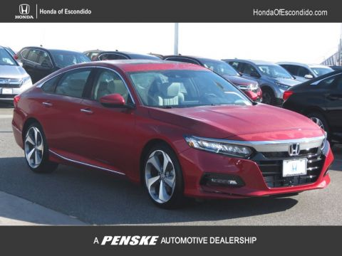 New 2018 Honda Accord Sedan Touring 2.0T Automatic