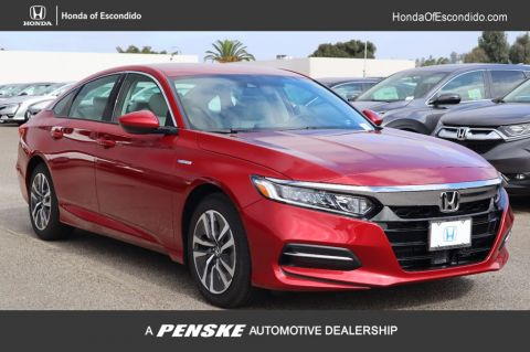 New 2019 Honda Accord Hybrid Sedan